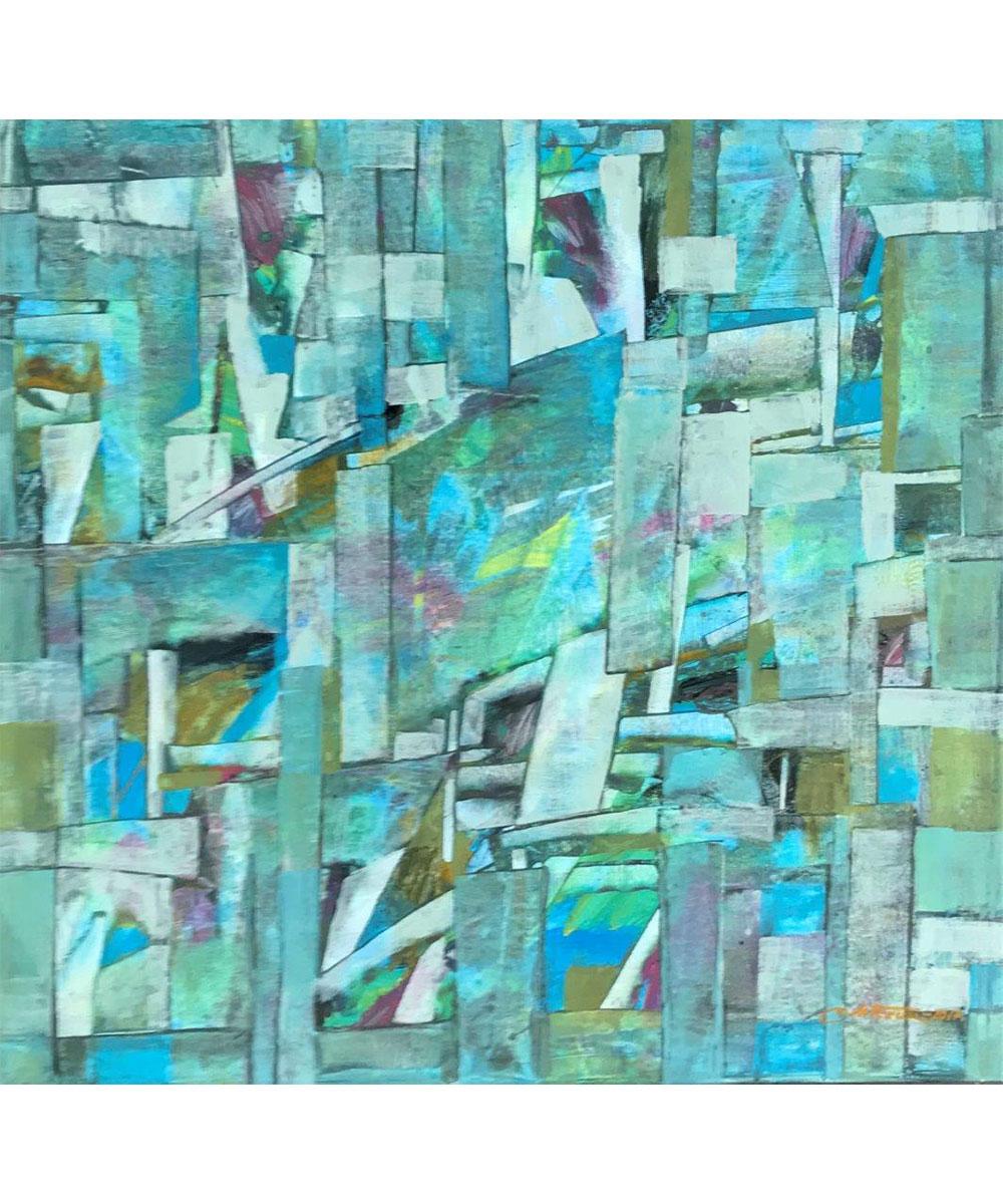 Vivid-Gallery-Marian-Wolczuk-Blekitne-Artefakty-III-100x100-2013