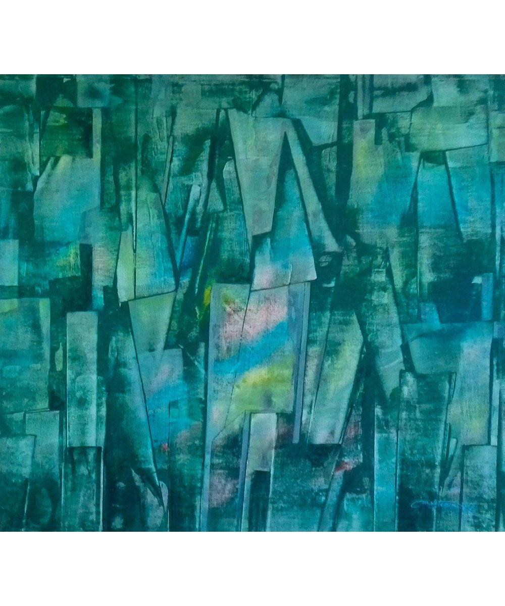 Vivid-Gallery-Marian-Wolczuk-Zielony-Pejzaz-110x100-2017